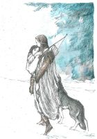 Beleg saved young Turin (Turin in Doriath) by Ephaistien