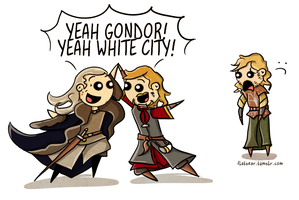 Stewards of Gondor. by flatbear