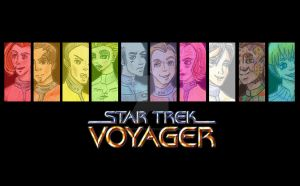 Voyager Wallpaper WIP by ladypixelheart