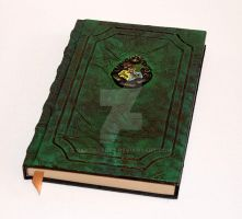 Hogwarts Tome Grimoire book of spells by RaptorArts