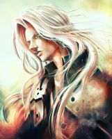 Sephiroth - Final Fantasy VII by B-tot