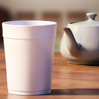 Commission: A Styrofoam Cup...! by SmashingRenders