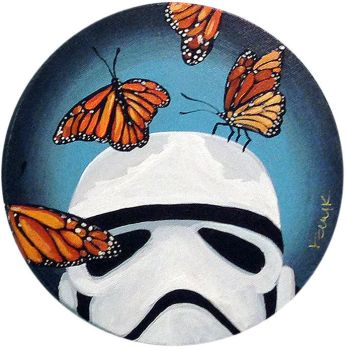 Stormtrooper Butterflies Series 8/9 by TrampLamps