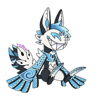 Scarfox Chibi Plush YCH by Topaz-The-CrossCat73