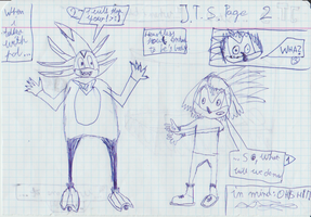 Blast from the past : J.T.S Comic 2 by JakeCherryWizardhog
