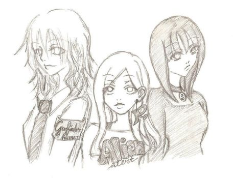 Hogwarts' girls by 10tative