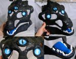 Custom dragon blank commissioned. by Crystumes