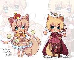 KuroxSok Collab Adopts [AUCTION](CLOSED) by kurolain