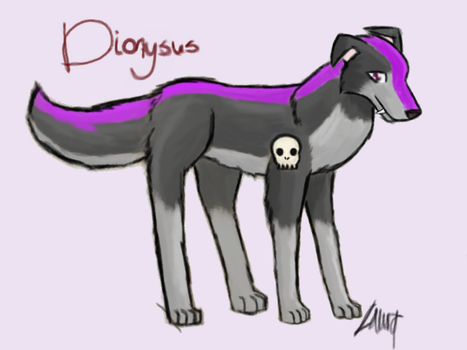 Dionysus by Murder-Rose