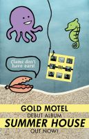 Gold Motel - Summer House by ginahey