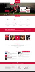 Boxin - Flat Creative PSD Template by heavenzART
