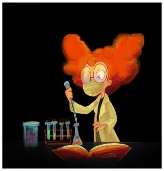 Modern witch experiences in a lab by Titita