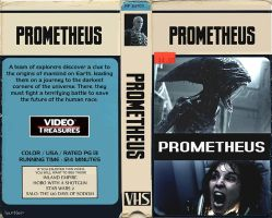 Prometheus VHS Box by Hartter