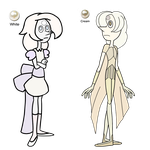 (Sale- Half Price) White and Cream Pearl 1 Adopts by Jubilee-Helix