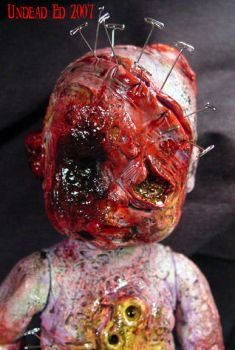 Rot Tot HH Close up  zombie by Undead-Art