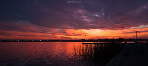 Autumn sunset by MWPHOTO