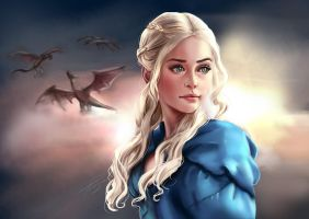 Daenerys // Game Of Thrones by Pomelyne