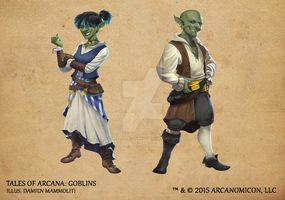 Tales of Arcana 1st Set - Goblins by TalesofArcanaRPG