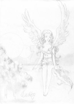 angel in the sky by Marsie-HST