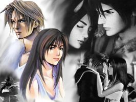 Squall and Rinoa by Criss-Tina