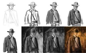 Indiana Jones making of by Matou31