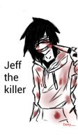 Jeff the killer by dany662