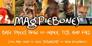 Magpiebones Catalog!- (Read info below!) by Magpieb0nes