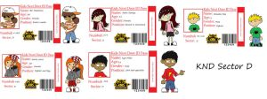 Knd Id cards by lizzyphantom4ever