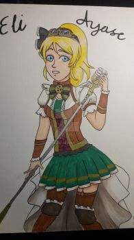 Eli Ayase from Love Live! by AnnuliiW