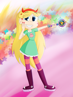 Star Butterfly by Lilysse