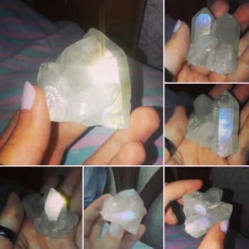 Mountain crystal by MusicAndArtItsMyLife