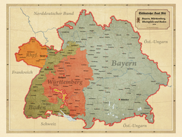 South German Confederation by Arminius1871