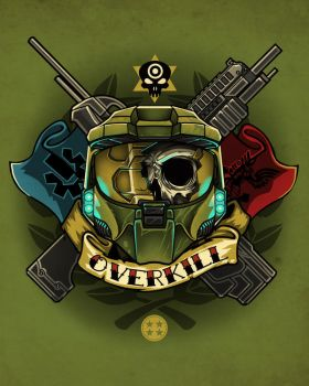 OVERKILL - shirtdesign by Pertheseus