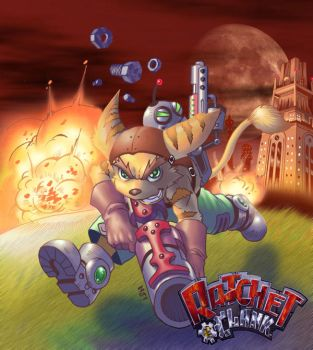 Ratchet n Clank by njay