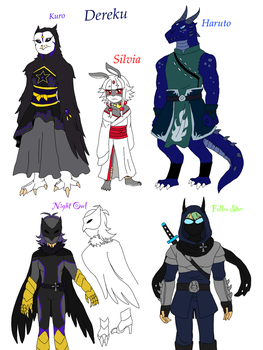 Possible Upcoming Characters by LilThiefSilverBunny