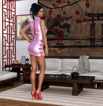 At Home With Mei Lin by Roy3D