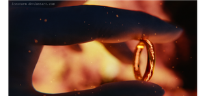 The one ring by Icesturm