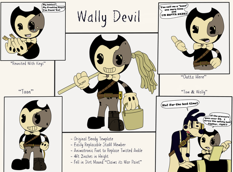 Character Concept: Wally Devil by Gamerboy123456