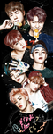 BTS you never walk alone drawing by Fuckthesch00l