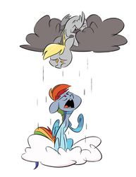 Don't Rain on my Rainbow by FluttershytheKind