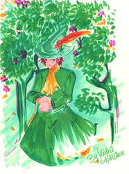 The Moomins : Snuffkin by Aonabi