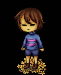 Chibi Frisk by Extremol