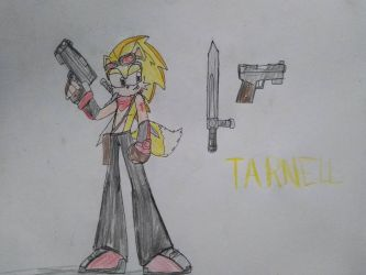 New OC: Tarnell the Hedgewolf by SuperMario1792