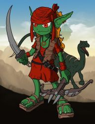 Goblin Pic Pathfinder Inked by JCServant