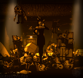 BATIM - It took so many of them... by SeriousNorbo