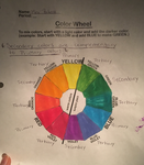 Art Class Online Color Wheel by mirpacheco