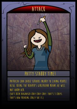 The Frighteners Card 5 - Pat by kickm