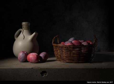 Nature morte by P4t3arb