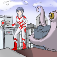Ayumi, Octopus -Test your might by Ekkonshon