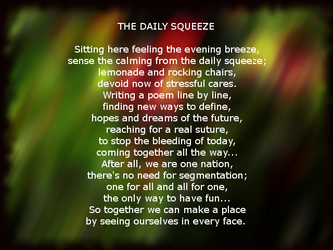 The Daily Squeeze by Ambruno